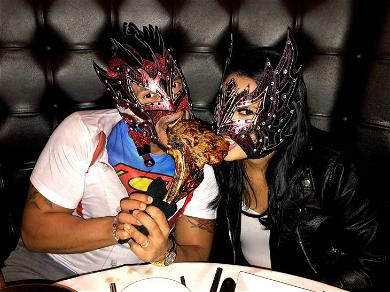 WWE Luchador Star Kalisto & Wife Can't Mask Their Love While Tag-Teaming Steak Dinner
