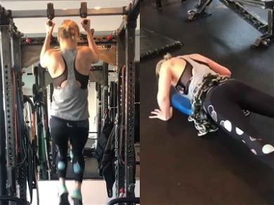 Brie Larson Goes Full Beast Mode While Training for 'Captain Marvel'