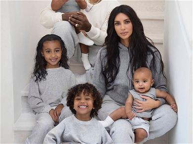 Twitter Has Very Specific Thoughts On Kim Kardashian's 2019 Christmas Card