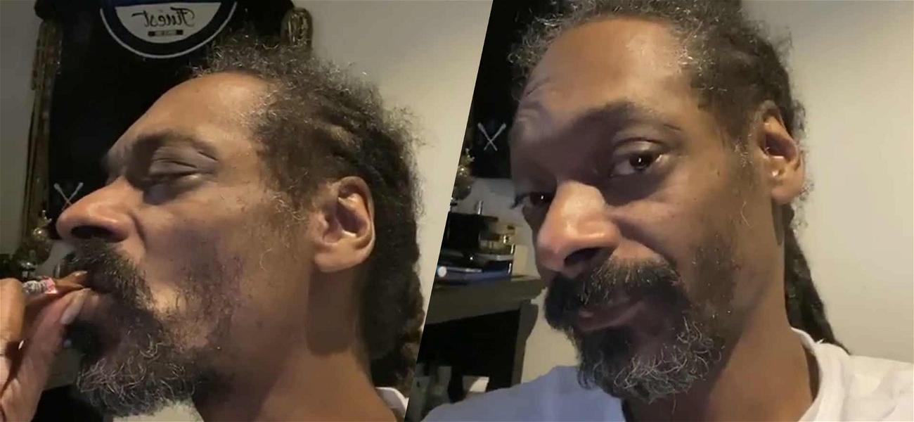 Snoop Dogg Shows Off His Gray Hair And Beard, Meet Silver Dogg