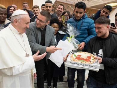 Pizza del Papa! Pope Francis Gets a Pie to the Face