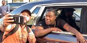 Tracy Morgan Rolls Through NYC While Bumping Jay-Z After Bugatti Crash