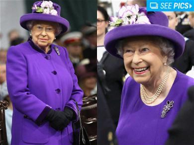 Queen Elizabeth is Already Rocking 'Ultra Violet'
