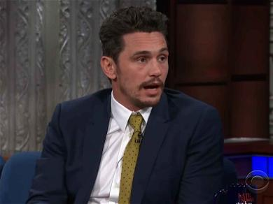 James Franco Talks Sexual Misconduct Allegations on 'The Late Show with Stephen Colbert'