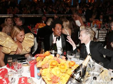 Beyonce' and Jay Z Cause Mass Hysteria On Twitter With Their Late Golden Globes Arrival