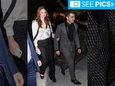 Joe Jonas and Sophie Turner Sing, Take Shots, and Sword Fight With Flaming Bottles at Engagement Party