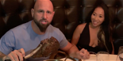 WWE Star Karl Anderson Destroys Las Vegas Steak With 'Hot Asian Wife'