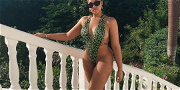 Jordyn Woods In A Thong That Barely Hangs On, Sets Instagram On FIRE!!