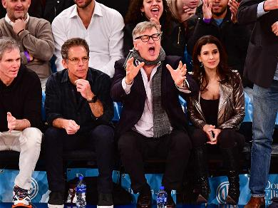 Alec Baldwin Lets Out His Rage at New York Knicks Game