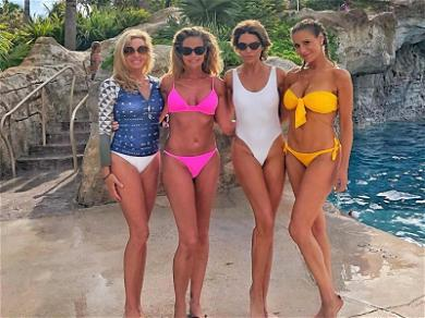 Denise Richards Is Officially 'RHOBH' on Bahamas Trip with Co-Stars