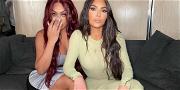 Kim Kardashian & La La Anthony MELT Down Internet In Matching String Bikinis!