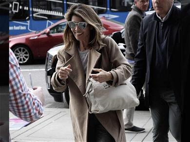 Lori Loughlin Smiles for Autograph Seekers After Landing in Boston for Court Appearance
