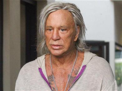 Mickey Rourke Socked with $50,0000 Judgment Over Unpaid Credit Card Bill