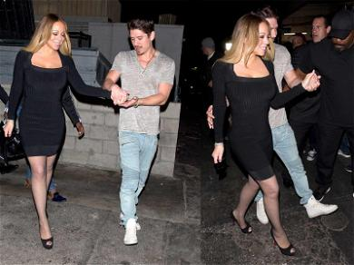 Mariah Carey Smiles On Date Night Amid Looming War with Ex-Manager