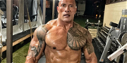 Dwayne 'The Rock' Johnson Flaunts Insanely RIPPED Body While Training For 'Black Adam'