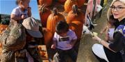 Kylie Jenner & Travis Scott Take Stormi To Her First Pumpkin Patch: Let's Goooourd!