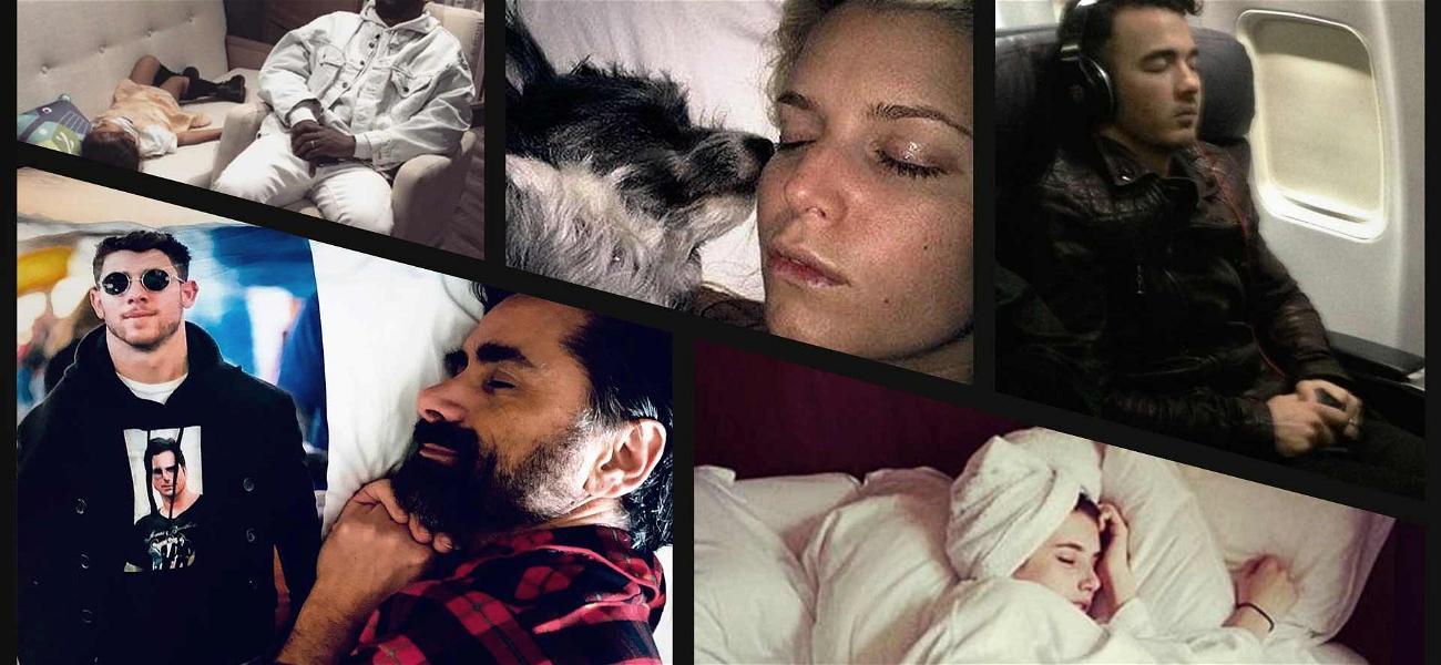Kanye West, John Stamos & Jessica Simpson Are Making Us Sleepy on National Napping Day