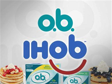 O.B. Tampons 'Flattered' That IHOP's New Logo Looks Like Theirs, But Offers a Warning …