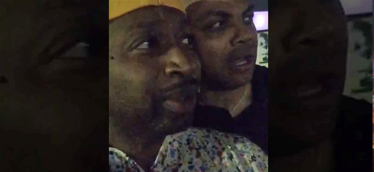 Charles Barkley Tells Fan to STFU After They Interrupt Him Filming a Video