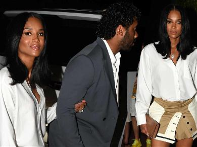 Ciara Baby Bumbin' In Mini Skirt For Miami Date Night With Russell Wilson