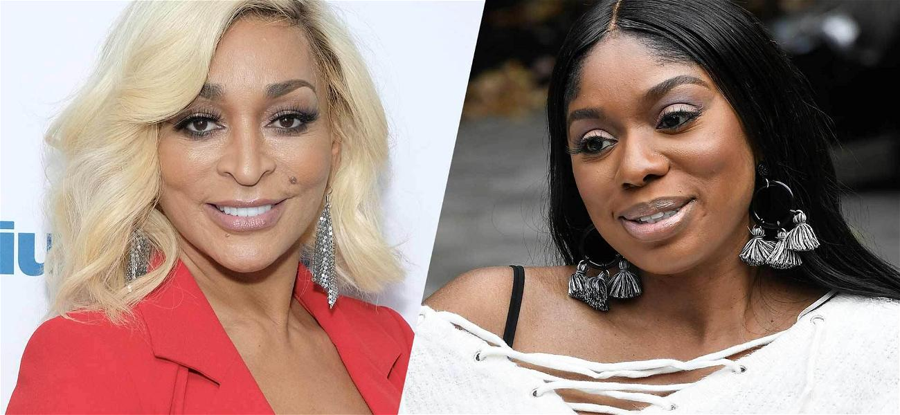 'RHOP' Star Karen Huger Ripped By Costar Wendy Osefo On Twitter
