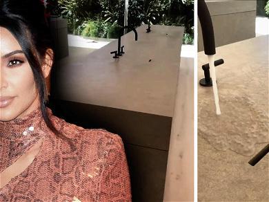 Kim Kardashian Revealed How Her Fancy Bathroom Sinks Work