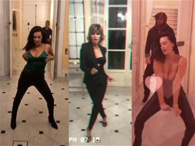 'RHOBH' Stars Kyle Richards & Lisa Rinna Let Loose After Paris Wine Tasting
