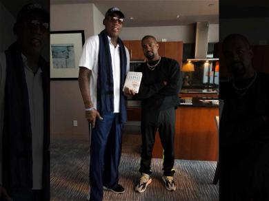 Kanye West and Dennis Rodman Had a Meeting of the Minds