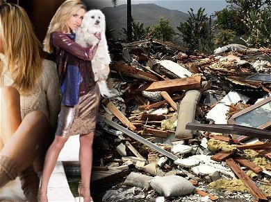 'RHOC' Star Camille Grammer Shares Snaps Taken in Malibu Mansion Before It Burned Down Prior to Fire Episode