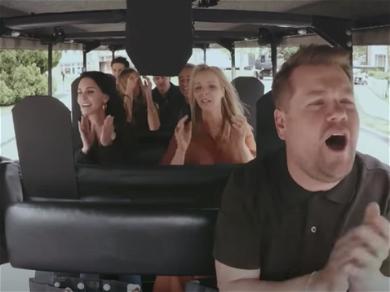 'Friends' Goes On Carpool Karaoke With James Corden In A Golf Cart