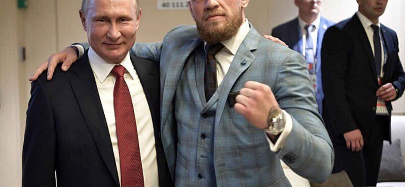 Conor McGregor Heaps Praise on Vladimir Putin at the World Cup Final