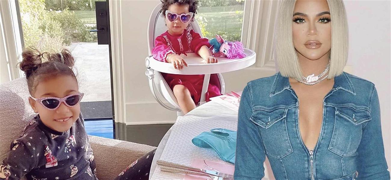 Khloe Kardashian Shares Sweet Pic Of Cousins True And North Making 'Prayer Hands'