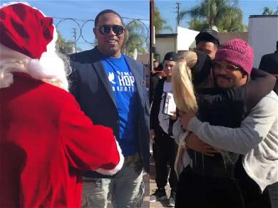 Master P and the Simin Hope Foundation Bring a Winter Wonderland to SoCal