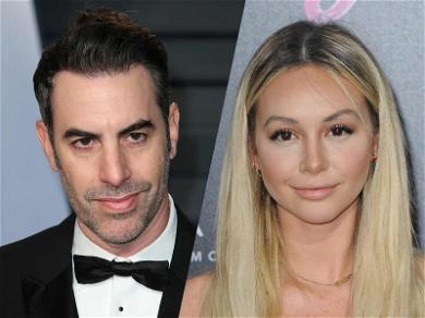 Corinne Olympios Pushes Munitions for Child Soldiers in Hilarious Sacha Baron Cohen Stunt