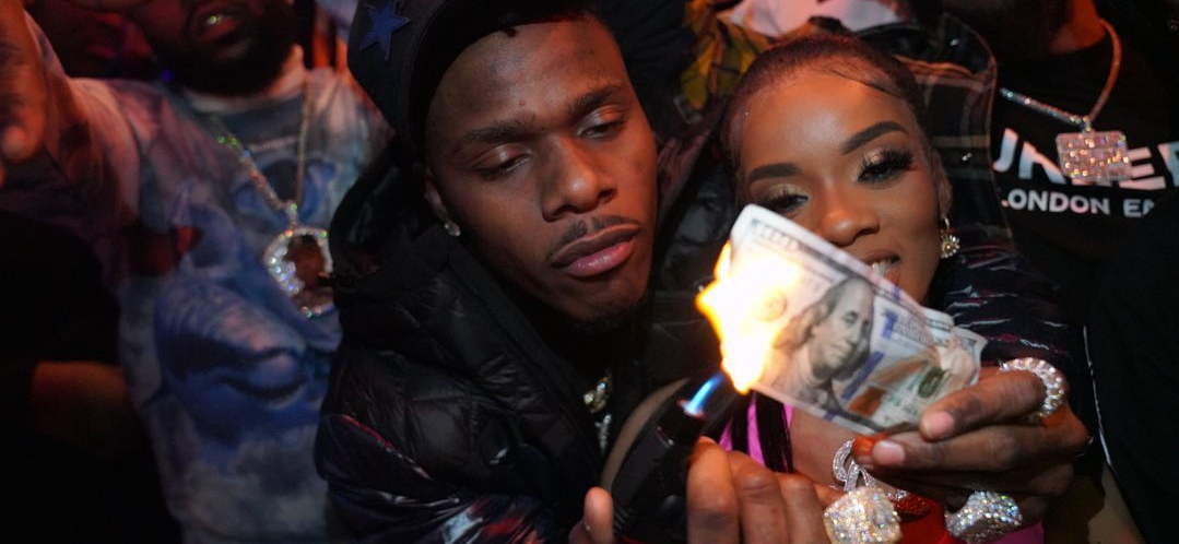 DaBaby Allegedly Violates Federal Law By Burning His Own $100 Bills!
