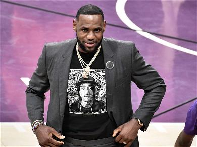 LeBron James and the Lakers Pay Tribute to Nipsey Hussle