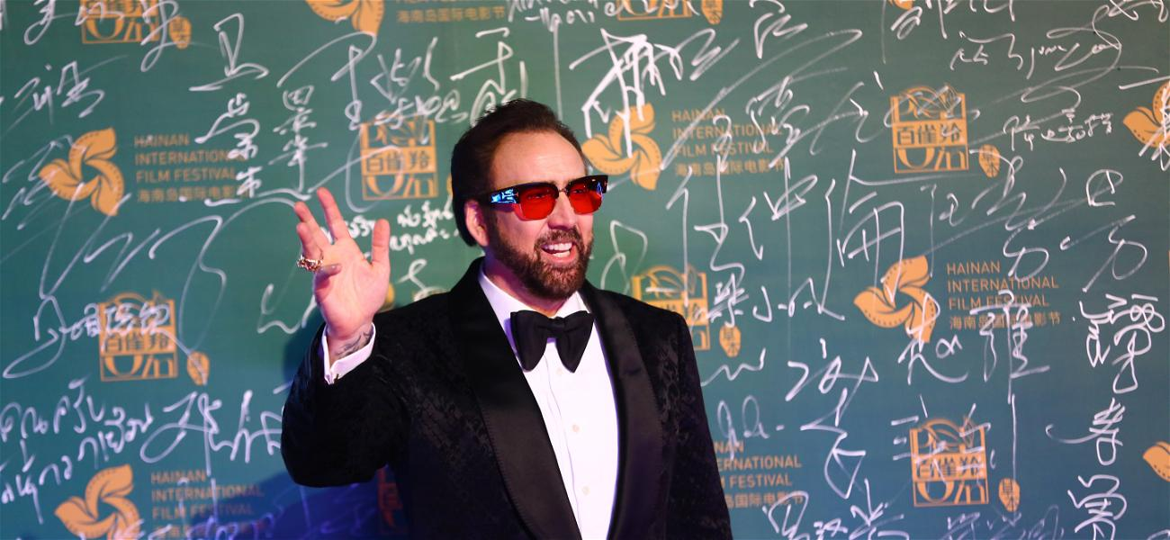 Nicolas Cage Was At A Movie Premiere, But No One Could Tell It Was Him