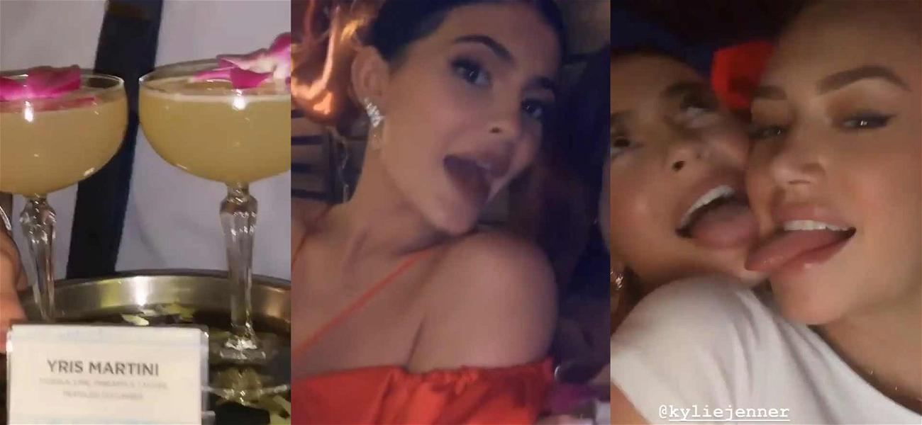 Kylie Jenner Out Partying While Kim Kardashian Waits for Surrogate to Give Birth