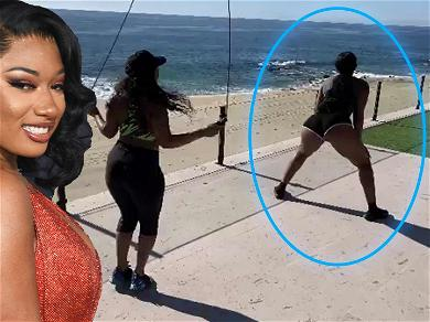 Megan Thee Stallion Twerks In Front Of Her Hot Friend To 'Motivate' Her