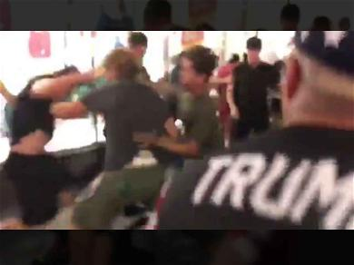 Politically-Fueled Beatdown Erupts Over Hollywood Star of Donald Trump