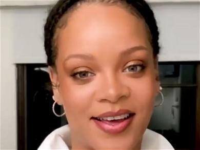 Rihanna DOMINATES In Lingerie-Clad Bedroom Video With Mullet!
