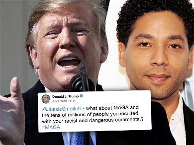 President Trump Calls Out Jussie Smollett: Where's Your 'MAGA' Now?!