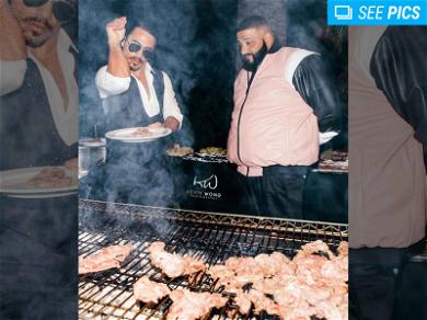 Salt Bae Catered and Fork-Fed Guests at DJ Khaled's Birthday Party