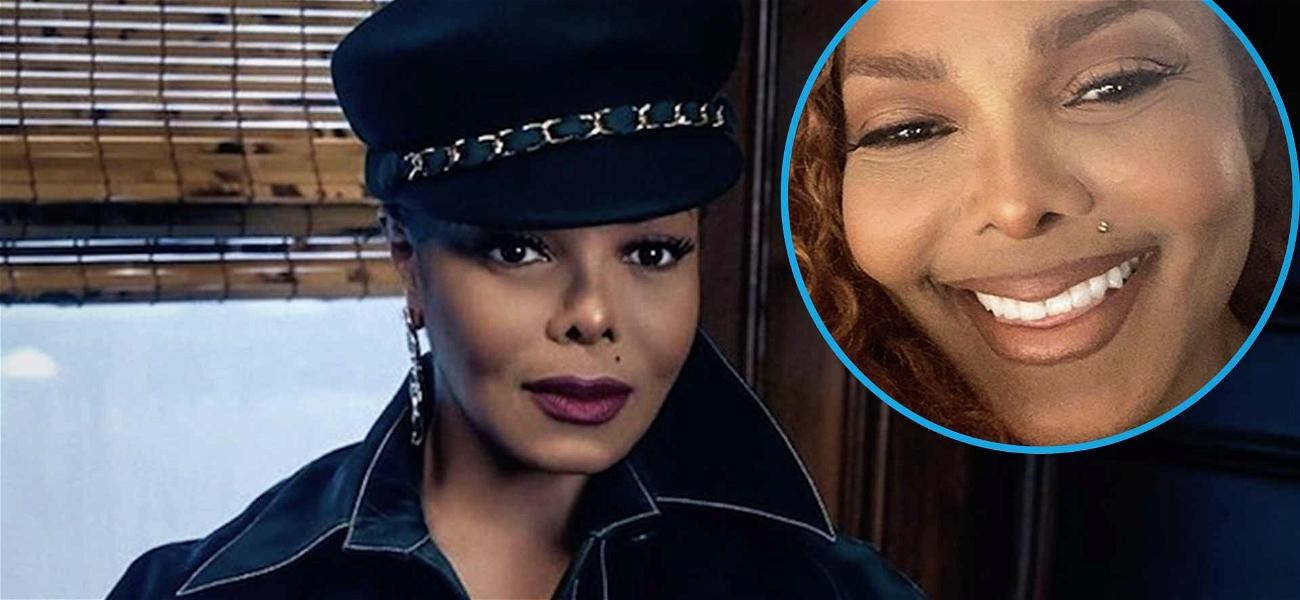 Janet Jackson Spreads 'Love & Light' With Beautiful Smiling Selfie