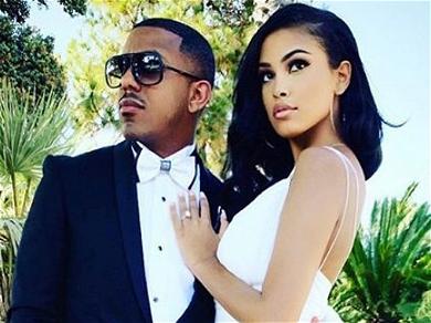 Marques Houston's 19-Year-Old Wife Miya Shares Wedding Photos