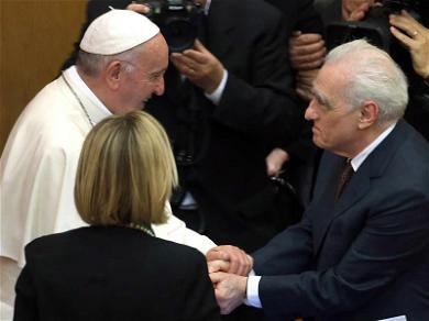 Martin Scorsese Meets With Pope Francis, the Goodest Fella of Them All