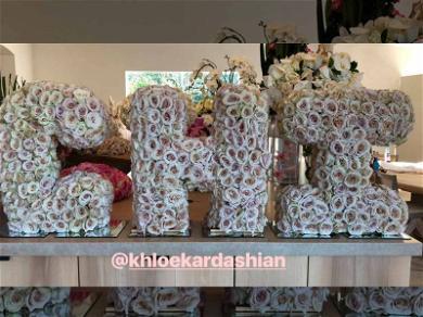 Khloé Kardashian Just Gave Kim an Insane Bouquet of Flowers
