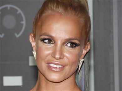 Britney Spears Gets 'Happy' In Cheetah Print Bodysuit