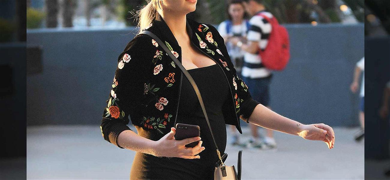 Kate Upton Bumping Along To Watch MLB Husband Defeat Los Angeles Dodgers