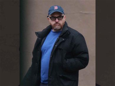 Louis C.K. Keeps His Hands In Pocket While in Public